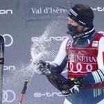 Senzacija na smuku v Val d'Iseru: celjski smukač Martin Čater zmagal s številko 41! (video)