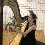 Mlada celjska harfistka dosegla velik mednarodni uspeh