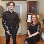 Uspeh mladega celjskega klarinetista na mednarodnem fesitvalu