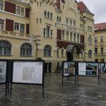 Na Krekovem trgu razstava o Jožetu Plečniku in Pragi. Odprtja se je udeležil češki veleposlanik