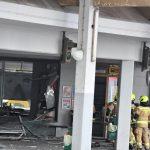 Eksplozija na glavni avtobusni postaji v Celju (foto)