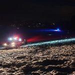 Prometna nesreča, več poškodb pri sankanju, požara v dimniku