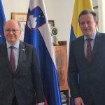 Celje obiskal veleposlanik Švedske v Sloveniji