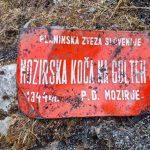 Vzrok požara na Mozirski koči še ni potrjen. Na pogorišču tudi pes specialist za iskanje vnetljivih snovi
