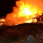Zgorela Mozirska koča na Golteh (foto, video)