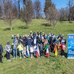 V mestnem sadovnjaku pod Golovcem zasadili 16 sadnih dreves (foto)
