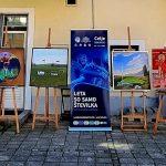 Celjski slikarji ustvarjali na temo Evropskega nogometnega prvenstva do 21 let