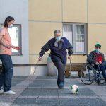 Kako so v Domu sv. Jožef v zadnjih tednih živeli z nogometnim EUROM U21 (foto, video)