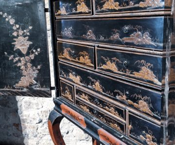 Očarljivi črni lakirani predmeti so v 16. stoletju postali predmet poželenja evropske aristokracije. (Arhiv PMC)