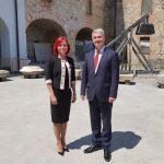 Veleposlanik Slovaške obiskal knežje mesto