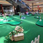 V Citycentru Celje lahko odslej igrate mini golf