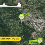Dirka po Sloveniji 2021: 2. etapa z vrhuncem v Celju. Kje vse se bo vozila svetovna kolesarska elita