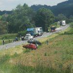 Poročilo Policijske uprave Celje: sreda, 2. 6. 2021 (voznica začetnica povzročila hudo prometno nesrečo v Šentjurju,…)
