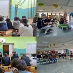 Kulturni dan v podporo umetnosti na OŠ Lava z vrhunskimi glasbenimi ustvarjalci (foto)