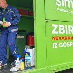 Začenja se jesenska akcija zbiranja nevarnih odpadkov iz gospodinjstev (lokacije in urnik)