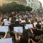 Celjsko mestno središče donelo v zvokih orkestrov