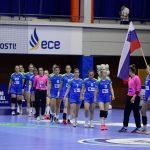 Mlade slovenske rokometašice s tremi porazi zaključile prvi del evropskega prvenstva v Celju