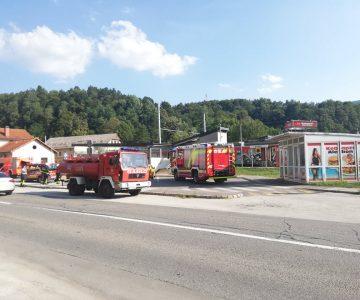 Požar vlaka v Štorah (foto: Egon Horvat)