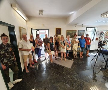 RAZSTAVA POLTJE 2021 – Galerija Volk Celje (3)- z otvoritve