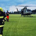 V prometni nesreči na Rogli poškodovan motorist
