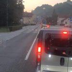 Zaradi prometne nesreče nekaj časa zaprta cesta Celje – Šentjur (foto)