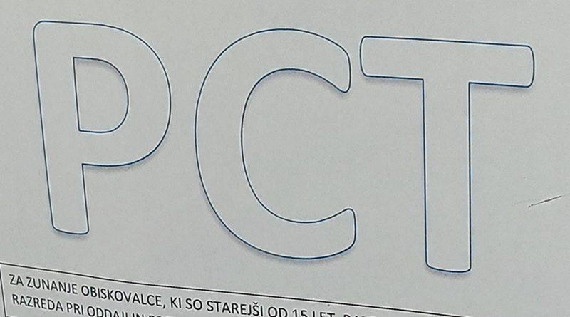 Odslej PCT pogoj le za starejše od 15 let. Cepilni centri zaradi velikega zanimanja odrti tudi čez vikend. Petek: 1.248 okužb, 360 hospitaliziranih, dva umrla