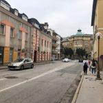 Levstikova ulica bo polovično zaprta dva tedna, nato dva tedna še popolna zapora